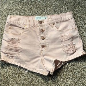High Rise Abercrombie & Fitch Shorts, Size 4 (27)